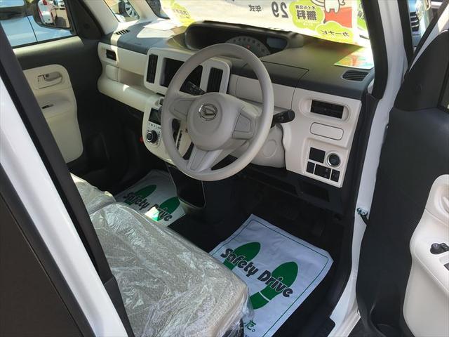 ダイハツ ムーヴキャンバス X 届出済未使用車 盗難防止 禁煙車