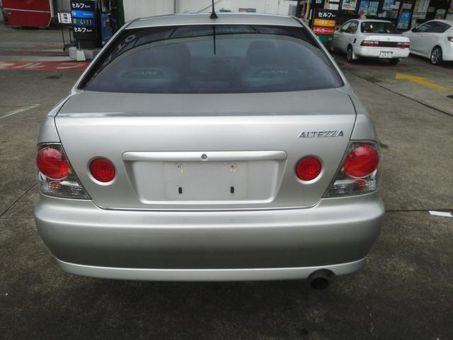 トヨタ アルテッツァ RS200 Zエディション 6速MT Fリップ ETC
