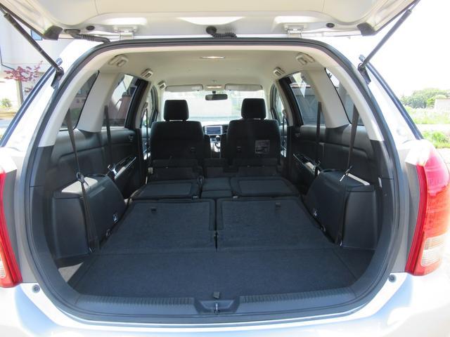 ■2列目シート、3列目シートを畳むとこのように広い収納スペースを確保!車中泊できる広さですよ!