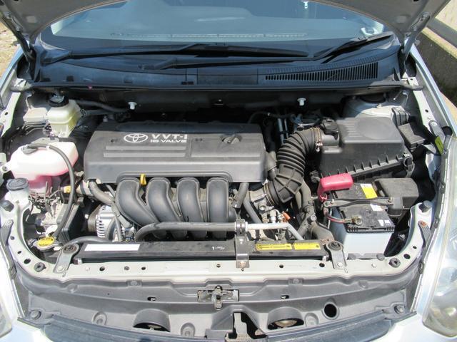 ■エンジン型式1ZZ-FE最高出力132ps(97kW)/6000rpm最大トルク17.3kg・m(170N・m)/4200rpm種類直列4気筒DOHC総排気量1794cc