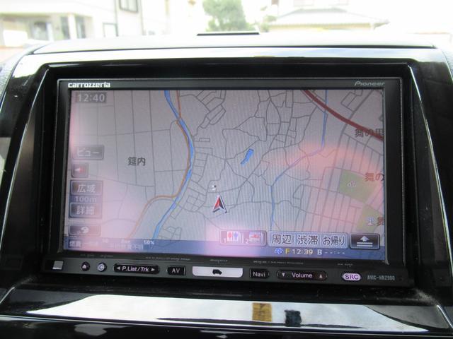 TS ターボ 1年保証付 両側オートスライドドア HDDナビ バックカメラ スマートキー HID 純正アルミ(9枚目)