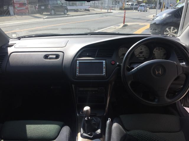 ホンダ トルネオ ユーロR 禁煙車 フルノーマル 5速 ツインカムVTEC