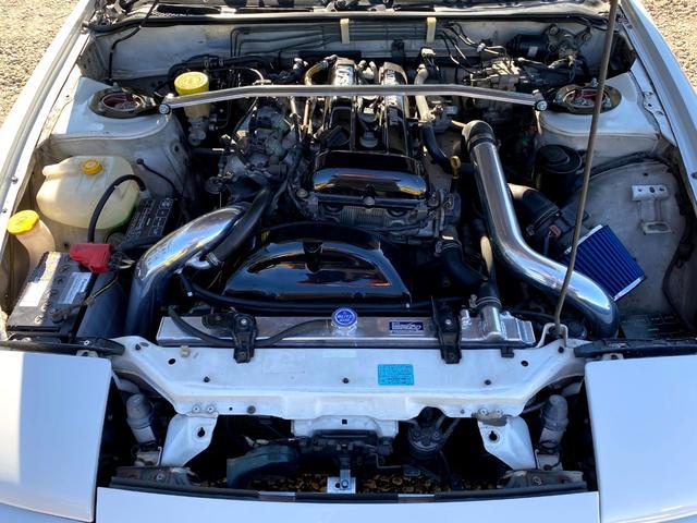 タイプX 5MT/BRIDEセミバケットシート/BRIDEグローブボックス/HPIインタークーラー/BRITZラジエター/BRITZ車高調/SSRエイグルミネルバ18インチ9J10J/D-MAXアーム/(15枚目)