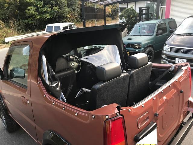 ランドベンチャー 4WD リアカット 2インチアップ(11枚目)