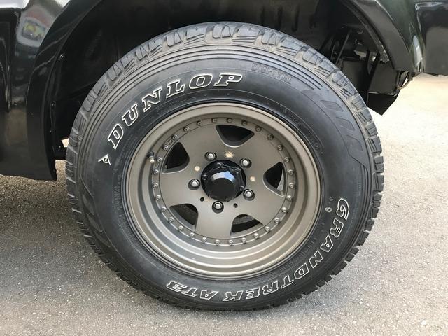 JZ 2インチアップ 社外アルミ 4WD 5速マニュアル(5枚目)
