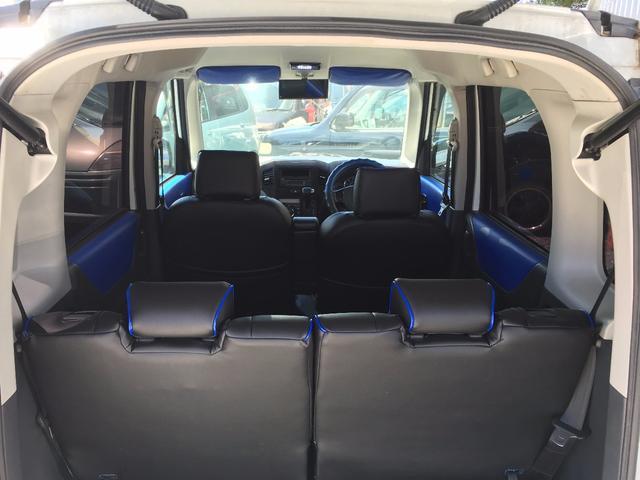 スズキ パレットSW XS 社外エアロ 社外アルミ 社外シートカバー