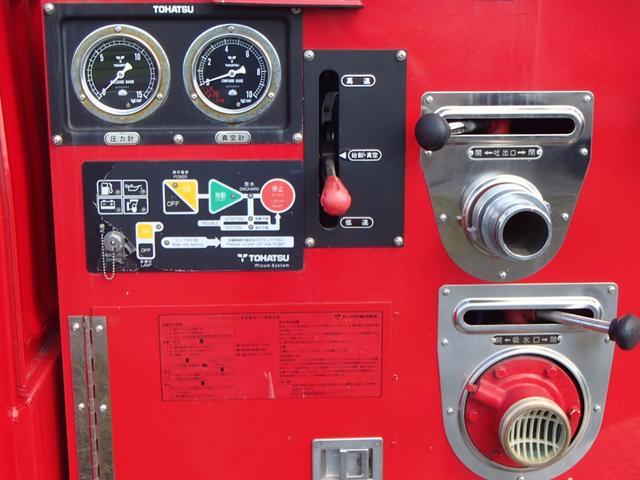 トヨタ トヨエース WキャブロングジャストローDX パワステ エアコン 消防