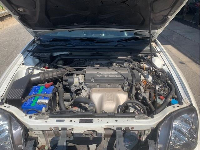 SiR VTEC サンルーフ ハーフレザー 車高調 ETC(10枚目)