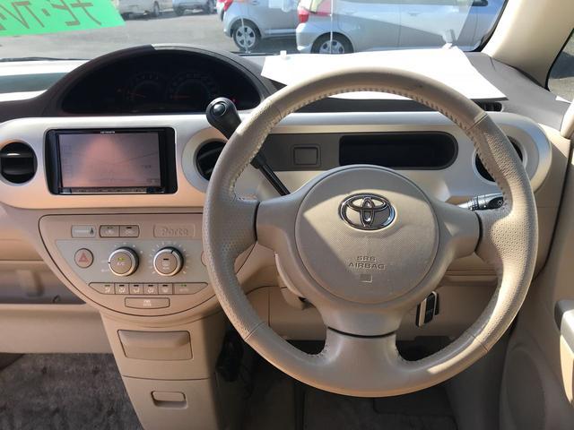 トヨタ ポルテ 150r モカセレクション ワンオーナー 禁煙車