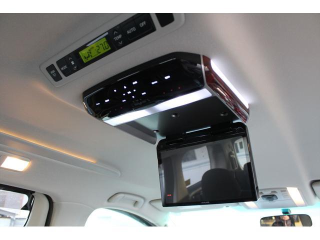 トヨタ アルファード 240S 社外HDDナビ 後席モニター Bカメラ 両側電動
