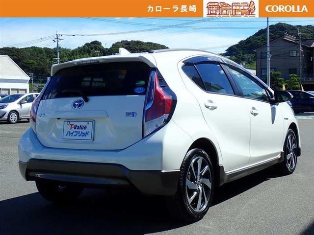 「トヨタ」「アクア」「コンパクトカー」「長崎県」の中古車4