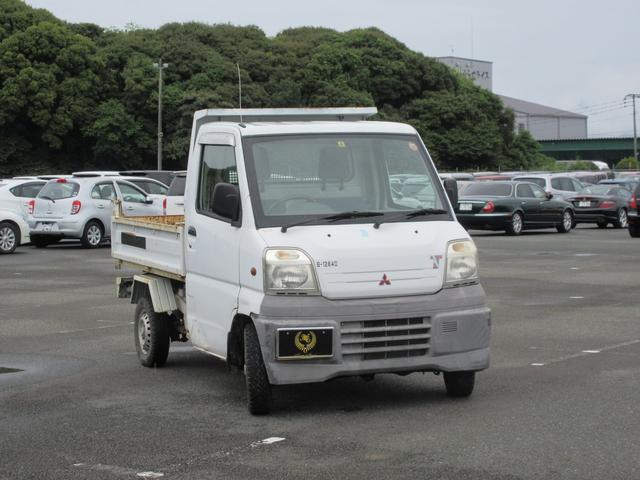 ダンプ 4WD タイベル交換済 エアコン 次回車検31年7月(4枚目)