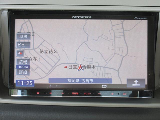 L タイベル交換済み フルセグTV ナビ DVD再生 CD付(3枚目)