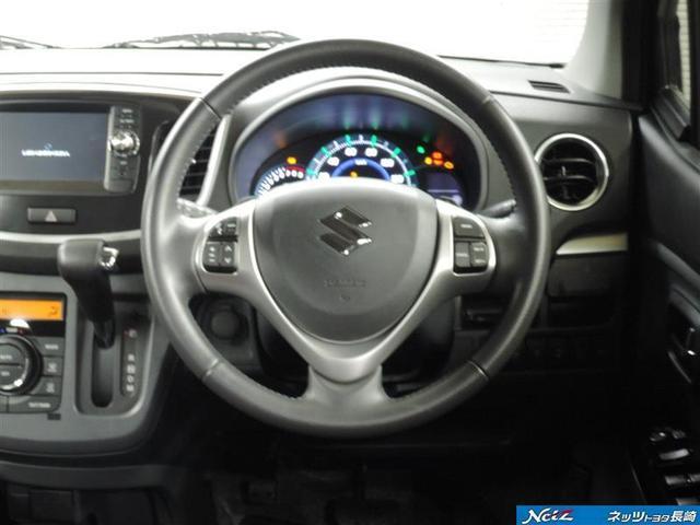 スズキ ワゴンRスティングレー T レーダーブレーキサポート メモリーナビ ワンセグ Bモニ