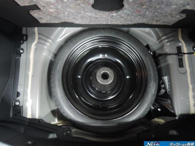 応急タイヤ装備されていない車も増えていますが・・・この車は大丈夫v(^◇^)v使いたくない物だけど、あるだけで万が一の時にも安心ですよねo(≧∇≦)o゙