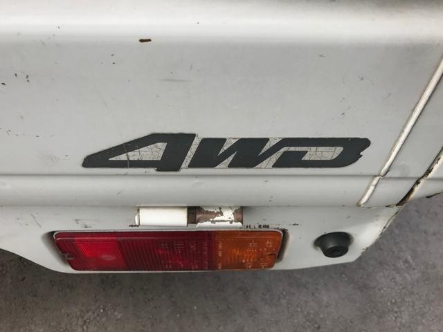 4WD 5速MT エアコン 作業灯 ゲートチェーン(8枚目)