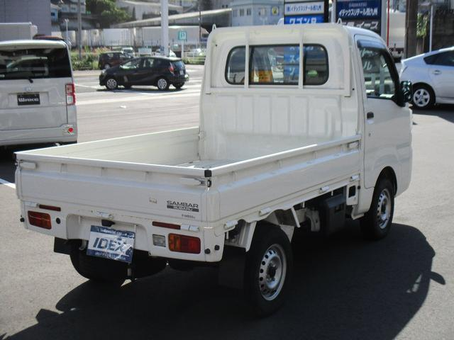 TB 1年保証付 5速MT 4WD 三方開 エアコン パワステ 純正ラジオ(4枚目)