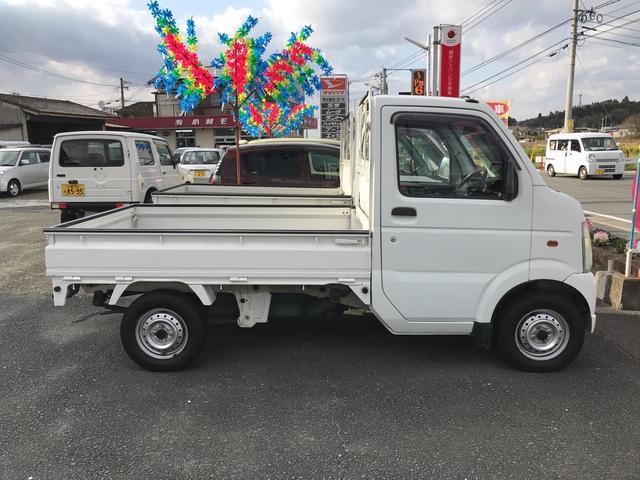KCエアコン・パワステ 4WD AC MT 軽トラック(4枚目)