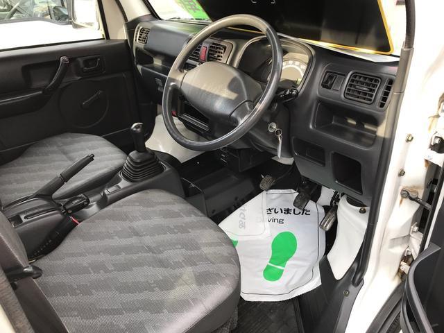 KCエアコン・パワステ 4WD AC MT 軽トラック(11枚目)