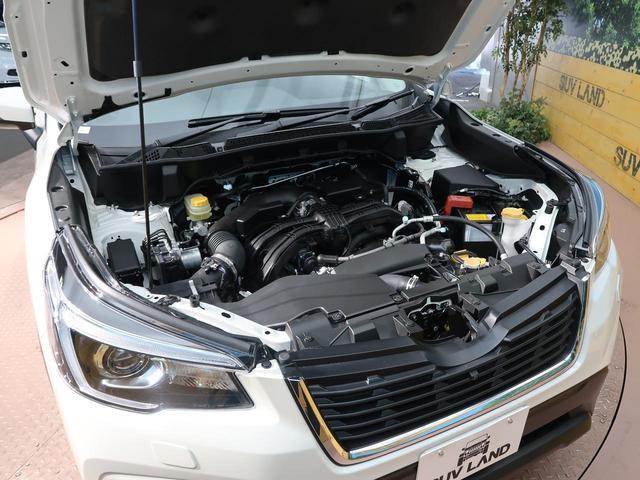 プレミアム 登録済未使用車 衝突被害軽減装置 LEDヘッド レーダークルーズ シートヒーター純正18インチアルミホイール アイドリングストップ クリアランスソナー ルーフレール パワーシート ハーフレザー(54枚目)