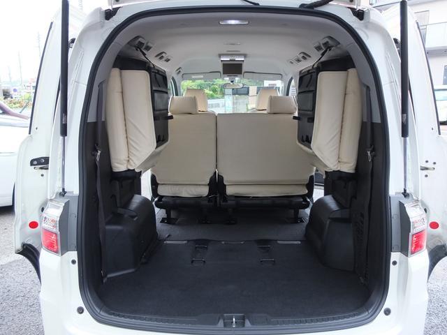 スパーダS HDDナビ スマートスタイルED ワンオーナー禁煙車 本革調シートカバー フリップダウンモニター 両側電動スライドドア キセノンヘッドライト LEDフォグライト(26枚目)