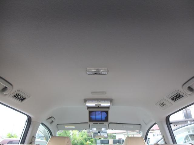 スパーダS HDDナビ スマートスタイルED ワンオーナー禁煙車 本革調シートカバー フリップダウンモニター 両側電動スライドドア キセノンヘッドライト LEDフォグライト(27枚目)