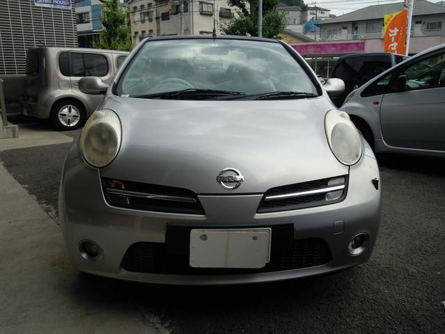 「日産」「マイクラC+C」「オープンカー」「長崎県」の中古車3