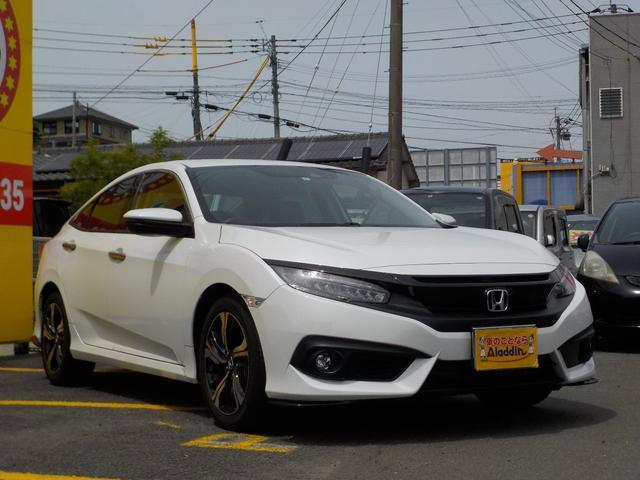 「ホンダ」「シビック」「セダン」「長崎県」の中古車3