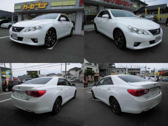 「トヨタ」「マークX」「セダン」「福岡県」の中古車5