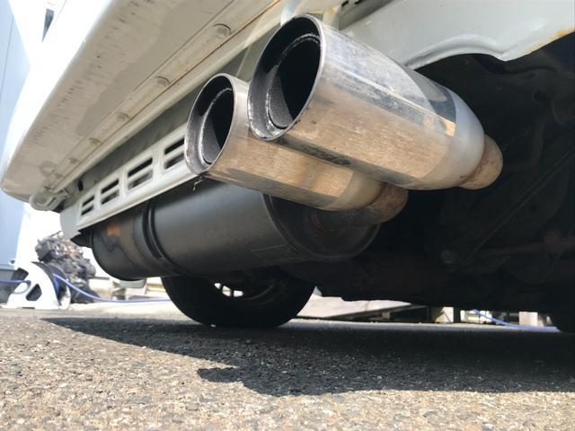 Gリミテッド スーパーチャージャー 全塗装済み・社外15インチAW・社外エアロ・HKSマフラー&エアクリーナー・社外ハンドル・パワーウィンドウ・エアコン・5速マニュアル(8枚目)