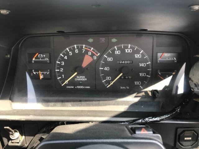 Gリミテッド スーパーチャージャー 全塗装済み・社外15インチAW・社外エアロ・HKSマフラー&エアクリーナー・社外ハンドル・パワーウィンドウ・エアコン・5速マニュアル(17枚目)