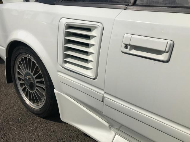 Gリミテッド スーパーチャージャー 全塗装済み・社外15インチAW・社外エアロ・HKSマフラー&エアクリーナー・社外ハンドル・パワーウィンドウ・エアコン・5速マニュアル(33枚目)