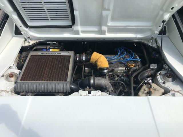 Gリミテッド スーパーチャージャー 全塗装済み・社外15インチAW・社外エアロ・HKSマフラー&エアクリーナー・社外ハンドル・パワーウィンドウ・エアコン・5速マニュアル(34枚目)