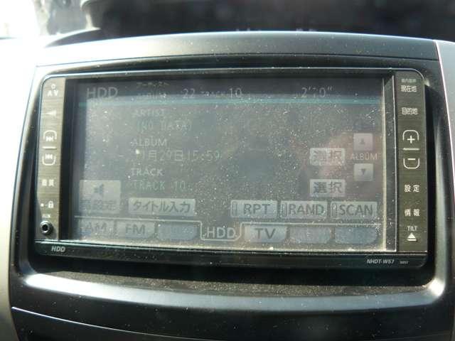 S 2年無料保証付き HDDナビCD録音BカメラDVDAUX(15枚目)