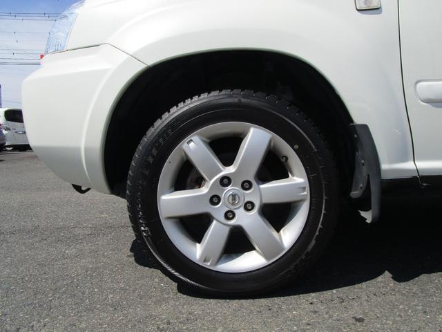 X 4WD 後期 防水レザーシート SDナビ ワンセグTV CD ETC スマートキー 電動格納ミラー 純正17インチアルミホイール シートヒーター フォグランプ タイミングチェーン PWウィンドウ(2枚目)