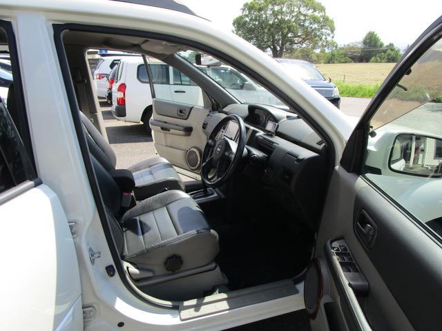 X 4WD 後期 防水レザーシート SDナビ ワンセグTV CD ETC スマートキー 電動格納ミラー 純正17インチアルミホイール シートヒーター フォグランプ タイミングチェーン PWウィンドウ(13枚目)