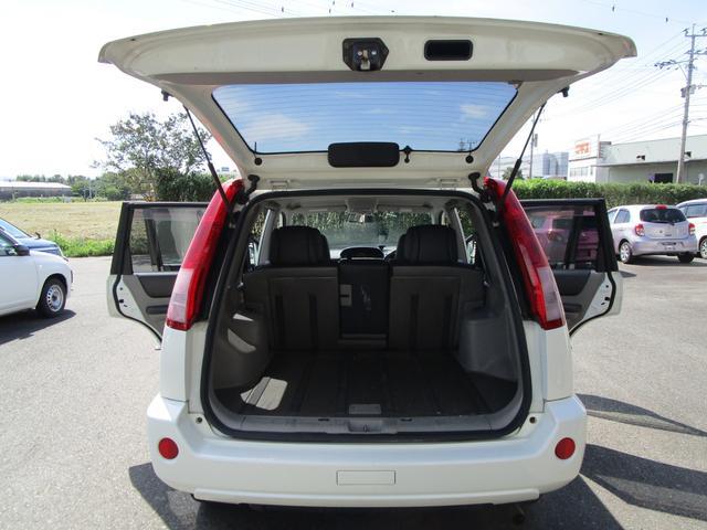 X 4WD 後期 防水レザーシート SDナビ ワンセグTV CD ETC スマートキー 電動格納ミラー 純正17インチアルミホイール シートヒーター フォグランプ タイミングチェーン PWウィンドウ(15枚目)