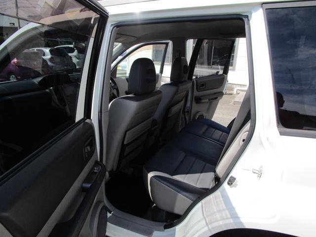 X 4WD 後期 防水レザーシート SDナビ ワンセグTV CD ETC スマートキー 電動格納ミラー 純正17インチアルミホイール シートヒーター フォグランプ タイミングチェーン PWウィンドウ(16枚目)