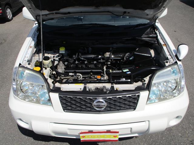 X 4WD 後期 防水レザーシート SDナビ ワンセグTV CD ETC スマートキー 電動格納ミラー 純正17インチアルミホイール シートヒーター フォグランプ タイミングチェーン PWウィンドウ(20枚目)
