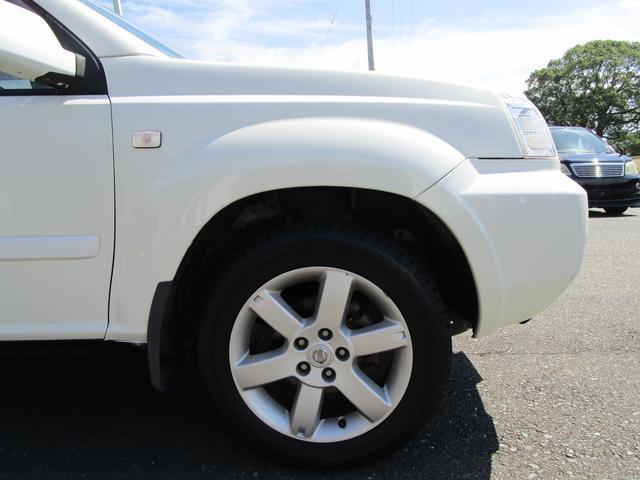 X 4WD 後期 防水レザーシート SDナビ ワンセグTV CD ETC スマートキー 電動格納ミラー 純正17インチアルミホイール シートヒーター フォグランプ タイミングチェーン PWウィンドウ(23枚目)