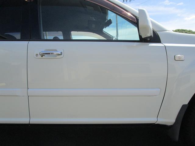 X 4WD 後期 防水レザーシート SDナビ ワンセグTV CD ETC スマートキー 電動格納ミラー 純正17インチアルミホイール シートヒーター フォグランプ タイミングチェーン PWウィンドウ(24枚目)