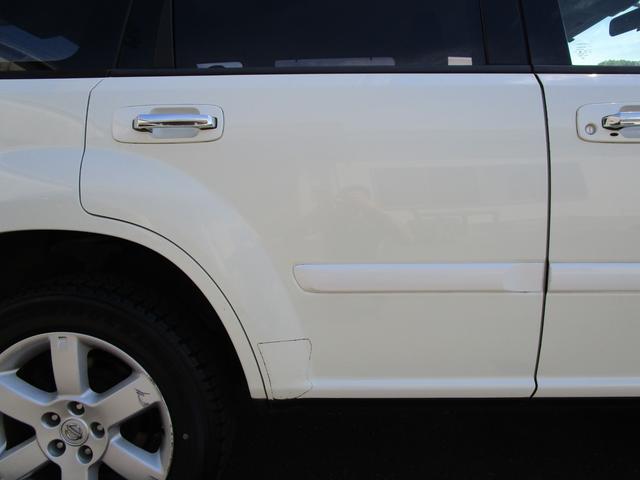 X 4WD 後期 防水レザーシート SDナビ ワンセグTV CD ETC スマートキー 電動格納ミラー 純正17インチアルミホイール シートヒーター フォグランプ タイミングチェーン PWウィンドウ(25枚目)