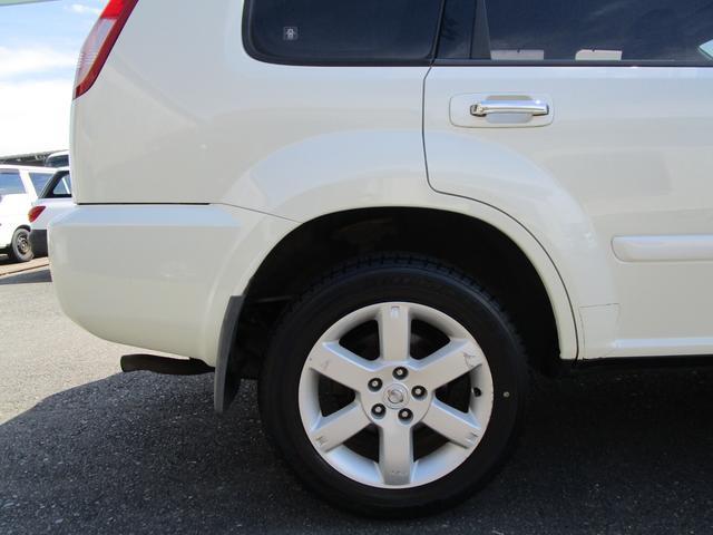 X 4WD 後期 防水レザーシート SDナビ ワンセグTV CD ETC スマートキー 電動格納ミラー 純正17インチアルミホイール シートヒーター フォグランプ タイミングチェーン PWウィンドウ(27枚目)