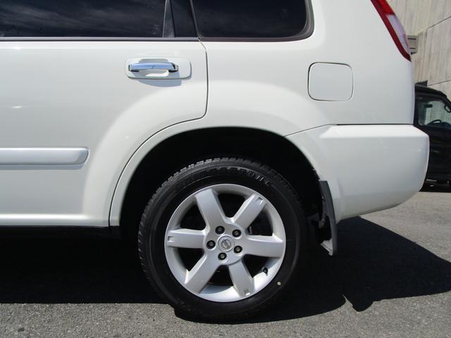X 4WD 後期 防水レザーシート SDナビ ワンセグTV CD ETC スマートキー 電動格納ミラー 純正17インチアルミホイール シートヒーター フォグランプ タイミングチェーン PWウィンドウ(32枚目)