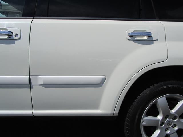 X 4WD 後期 防水レザーシート SDナビ ワンセグTV CD ETC スマートキー 電動格納ミラー 純正17インチアルミホイール シートヒーター フォグランプ タイミングチェーン PWウィンドウ(34枚目)