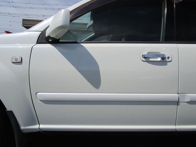 X 4WD 後期 防水レザーシート SDナビ ワンセグTV CD ETC スマートキー 電動格納ミラー 純正17インチアルミホイール シートヒーター フォグランプ タイミングチェーン PWウィンドウ(35枚目)