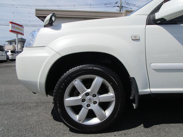 X 4WD 後期 防水レザーシート SDナビ ワンセグTV CD ETC スマートキー 電動格納ミラー 純正17インチアルミホイール シートヒーター フォグランプ タイミングチェーン PWウィンドウ(36枚目)