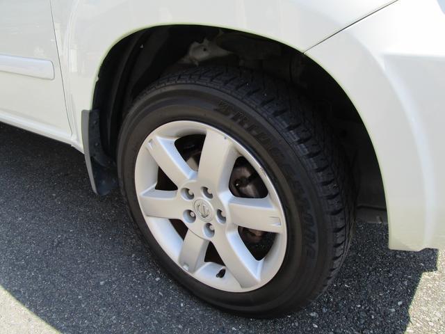 X 4WD 後期 防水レザーシート SDナビ ワンセグTV CD ETC スマートキー 電動格納ミラー 純正17インチアルミホイール シートヒーター フォグランプ タイミングチェーン PWウィンドウ(39枚目)