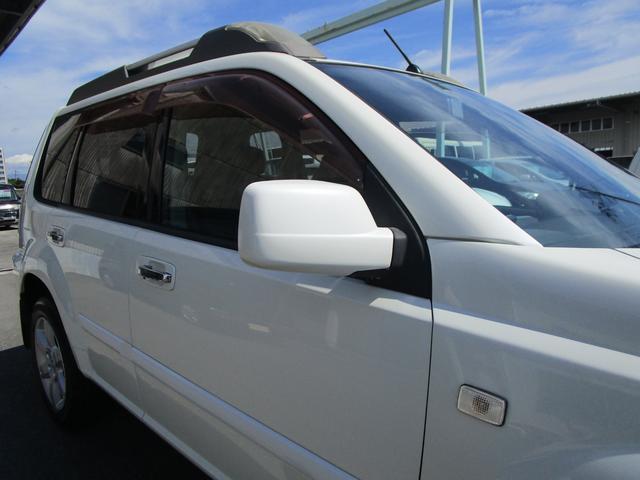 X 4WD 後期 防水レザーシート SDナビ ワンセグTV CD ETC スマートキー 電動格納ミラー 純正17インチアルミホイール シートヒーター フォグランプ タイミングチェーン PWウィンドウ(40枚目)