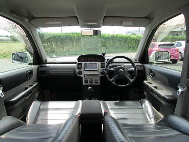 X 4WD 後期 防水レザーシート SDナビ ワンセグTV CD ETC スマートキー 電動格納ミラー 純正17インチアルミホイール シートヒーター フォグランプ タイミングチェーン PWウィンドウ(80枚目)